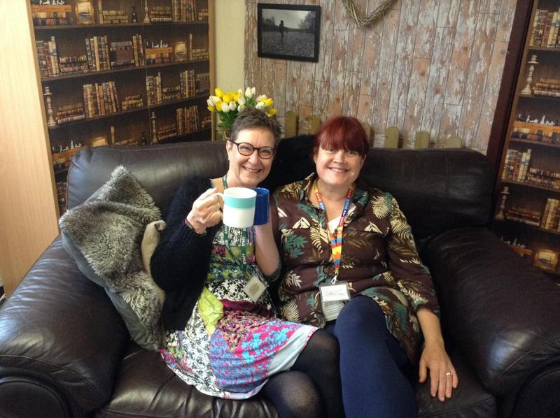 Mrs Lisa Jones and Mrs Dee Cook