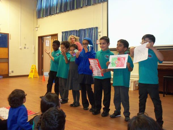 Children teaching the rest of the school