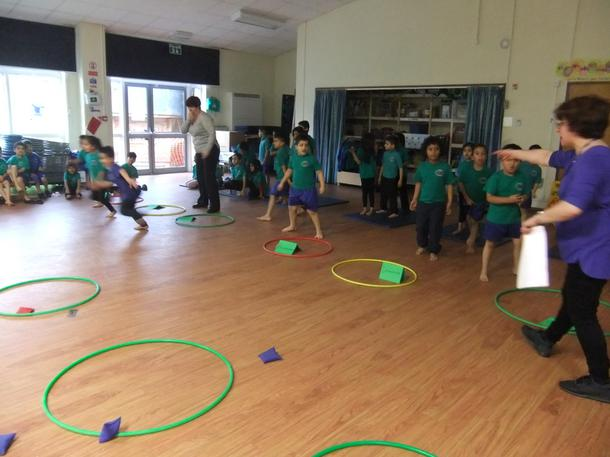 We competed in Maths based sports games