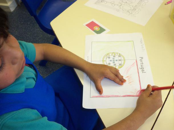 Colouring in flags