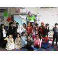 We dressed up as our favourite book characters