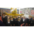 Pudsey visited the children in our Morning Club