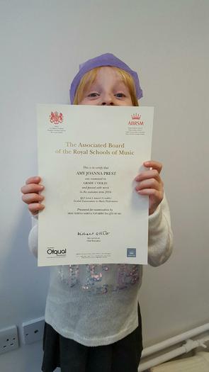 Violin Award Grade 1