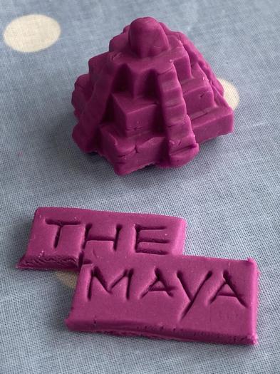 Jemma created another Maya temple