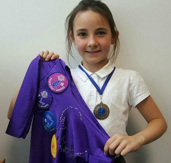 Brooke  A collection of gymnastic awards!