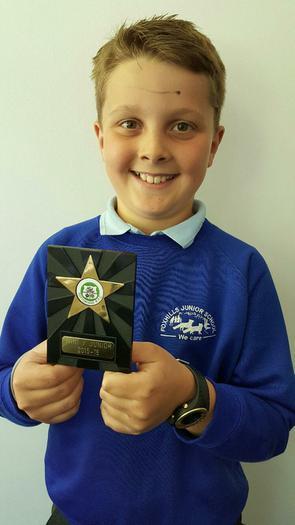 Jack- Tottonian Rugby club 1 year award!