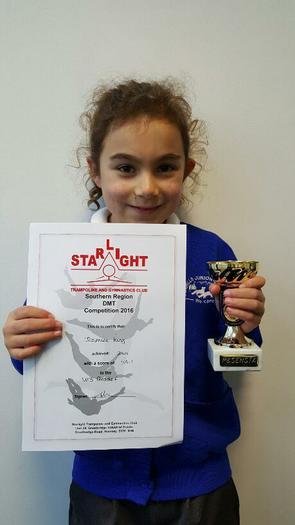Jasmine (3NH) Southern Region DMT -  2nd place!