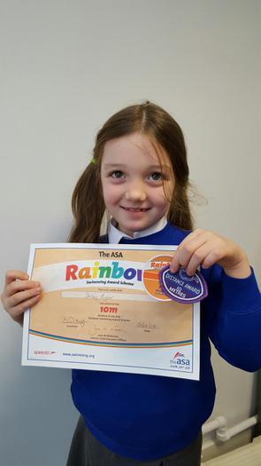 Daisy: Swimming Award - 10m!