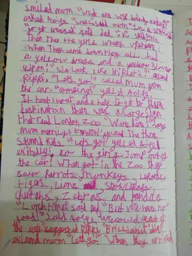Aoife's story part 2