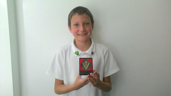 Zak-Y6-Represented Waterside Gym Club x5 times!