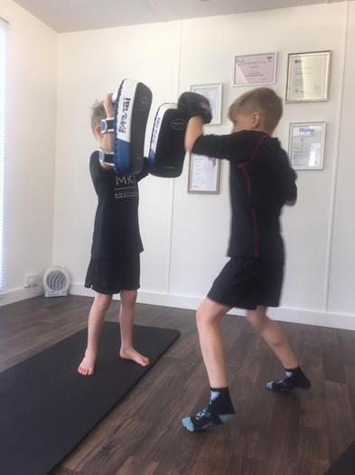 Austin Keeping Fit with Martial Arts