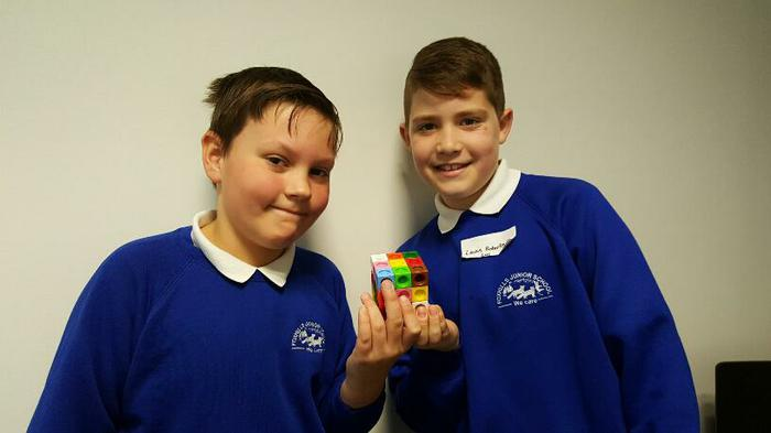 Cambell and Lewis... solved the cube!