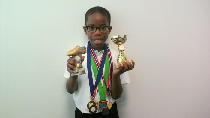 Nifemi (3AT) Various awards! What a winner!