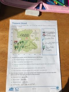 Ruby's treasure island learning