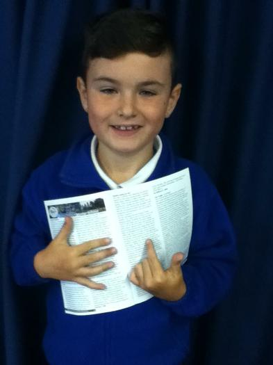 William Portwood (3NH) Writing was published!