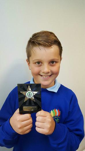 Jack -  junior rugby award!