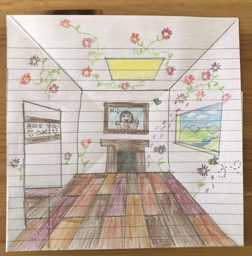 Xenia's perspective drawing