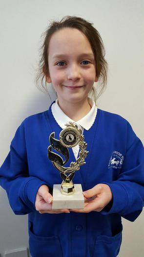 Ruby - Ballroom Dancing award... 3rd!