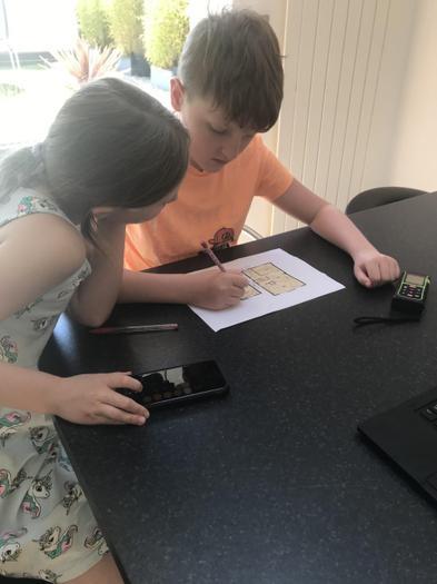 Ben has been a surveyor!