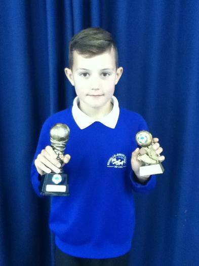 Ethan Baker (4MG) Spectators player of the year!