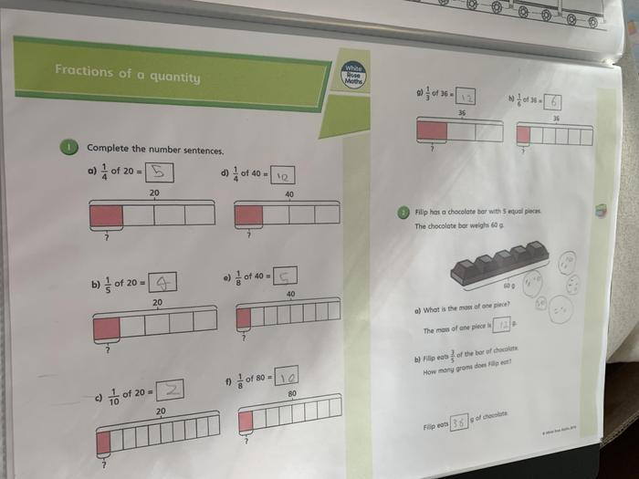 Mia's maths elarning