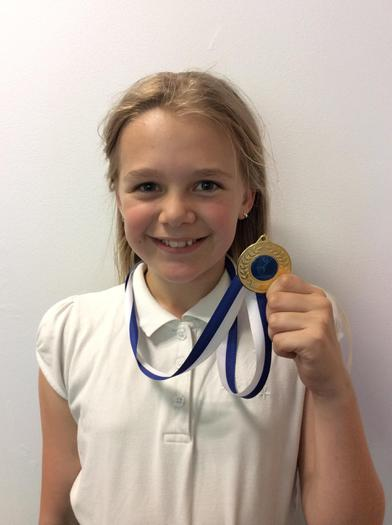 Charley - Gymnastics achievement award!