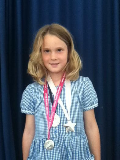 Annabel - Completed Race for life!