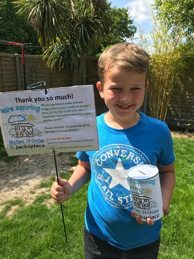 Daniel has been raising money for charity!