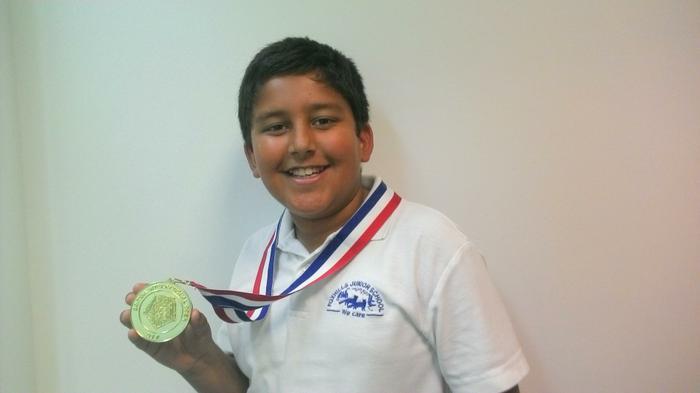 Ajay (4JS) - Taekwondo British Open CHAMPION!