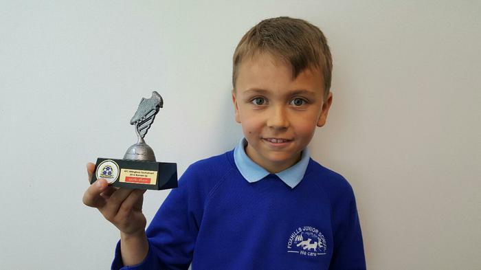 Noah - Hiltonbury Football Tournament runner-up!
