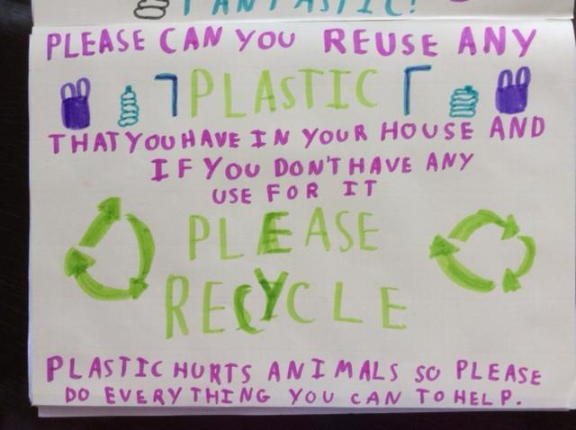 Elisabeth's recycling poster