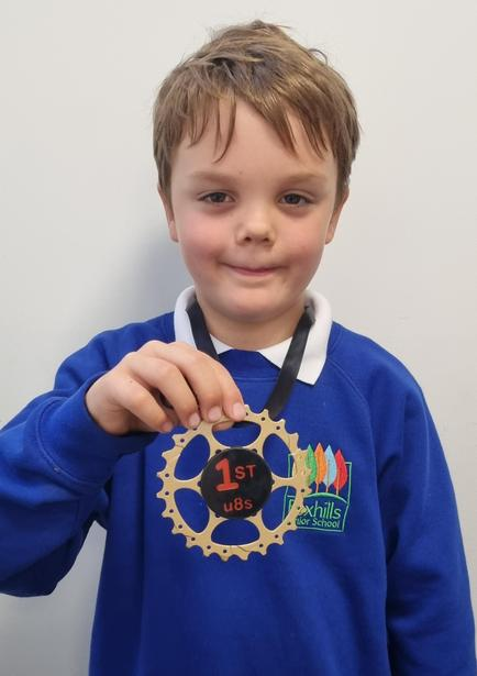 1st in cycle cross competition!