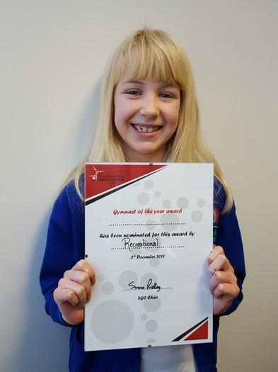 Gymnast of the Year nomination!