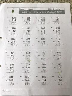 Thomas's maths