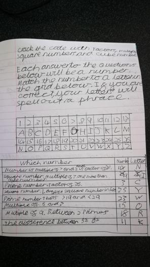 Owen managed to work out how to crack the code