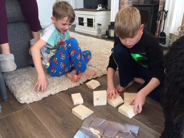 Austin & Evan's Problem Solving Egg Hunt! 2