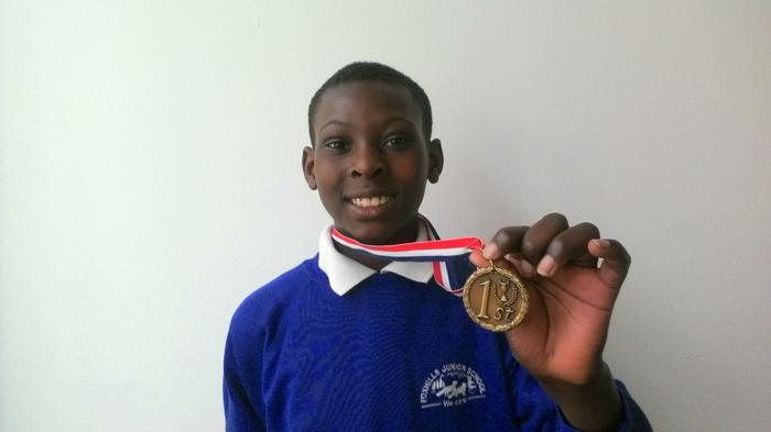 Christopher (5SB) Tennis Winner!