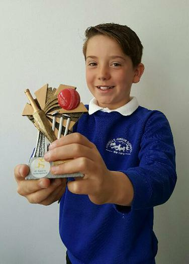 Finley: Top After-School Cricketer! (April)