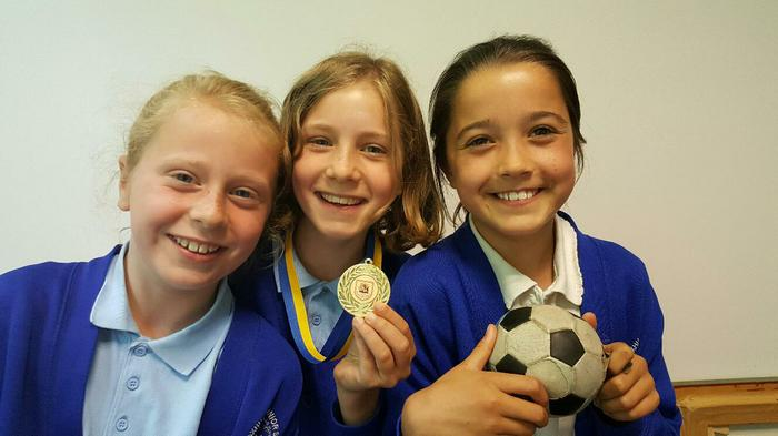 Romsey Football Competition Winners!