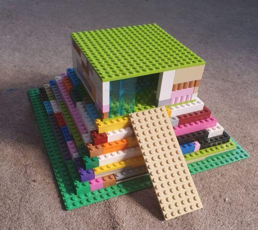 Kim's Lego Temple