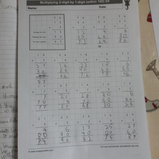 Liam (3EU) multiplication