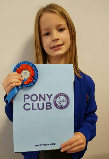 Maisie - newest member of the pony club!
