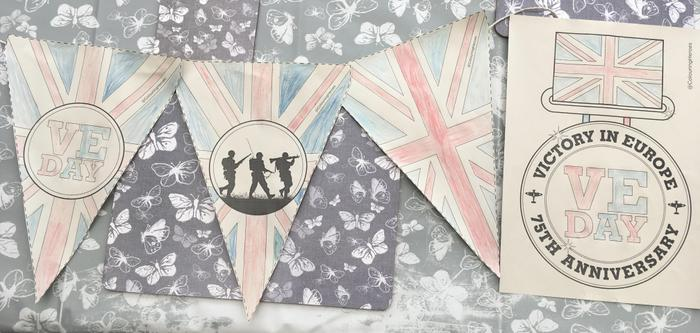 Liam's preparations for VE Day