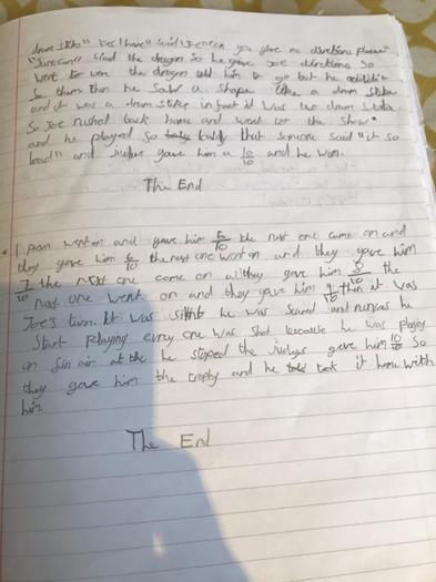 Jonah's story part 2