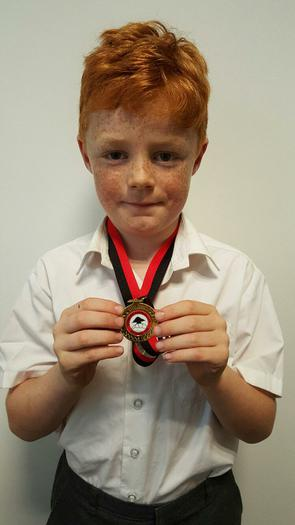 Declan-3BE-Lyndhurst football tournament winner!