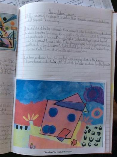 Elisabeth's art project 2