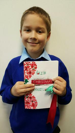 Kacper 3AT - AUTHOR of a Polish Christmas book!