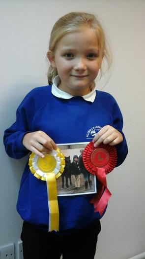 Helena: Manor Equestrian Centre -1st and 3rd place