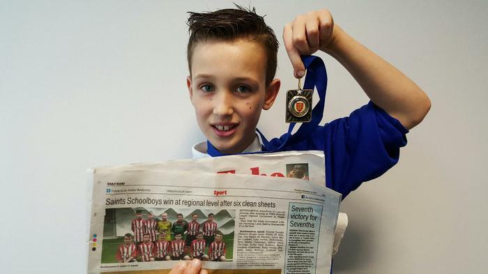 Evan 6JK Southampon boys Premier Regional Winners!
