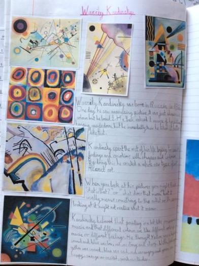 Elisabeth's art project 1